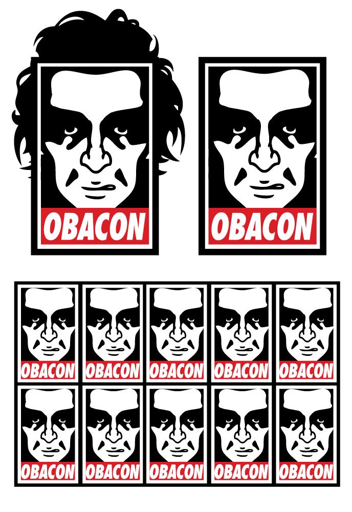 Obacon Obey parody sheet