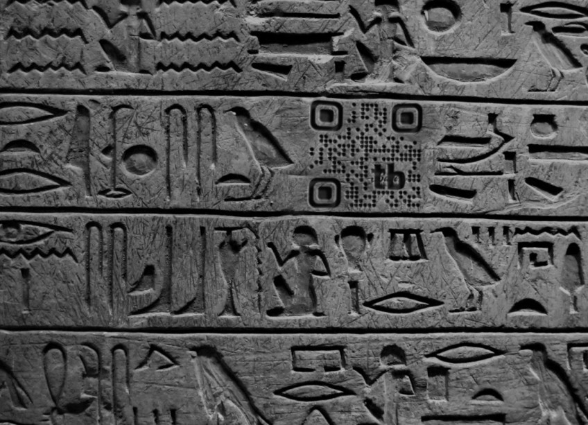 Worlds Oldest QR code?