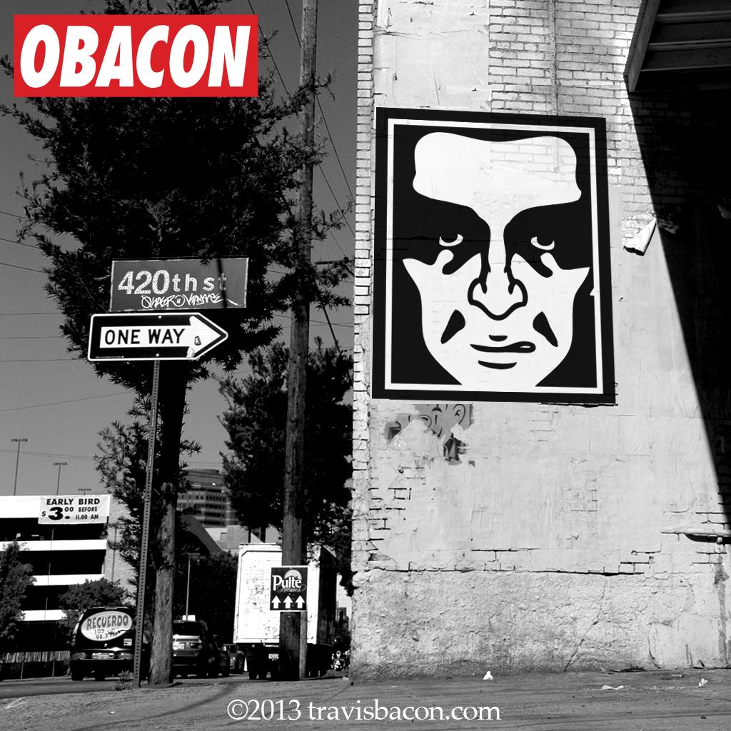 Obacon Obey parody poter mock up 1