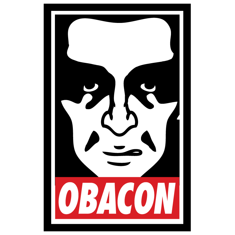Obacon Obey parody single graphic