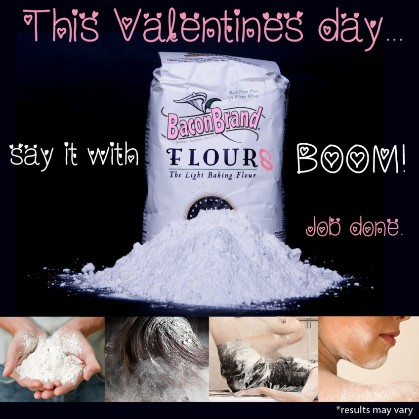 Say it with Flour this Valentine's Day