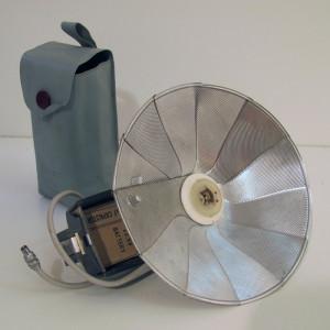 Vintage/Retro fold away external flash