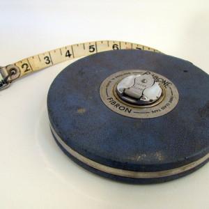 Vintage Rabone Fibron Tape Measure