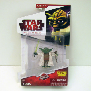 Clone Wars Yoda 2009 from animated series range