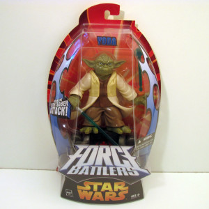 Force Battlers Yoda (with missile firing hover pod)