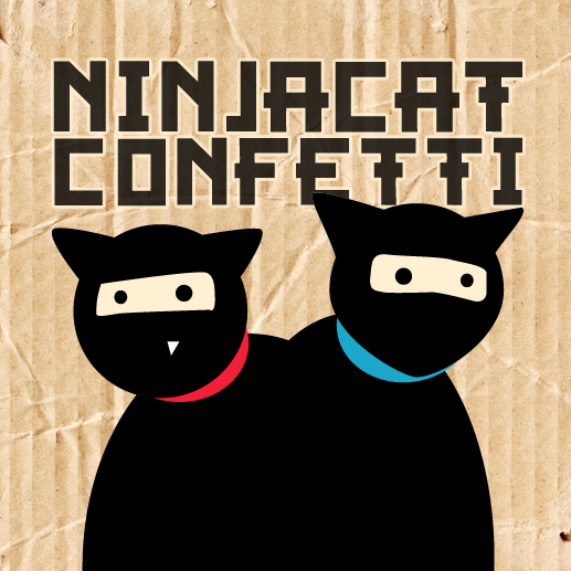 Move over Civet Cats – Ninjacat Confetti is here!