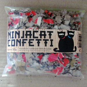 NinjaCat Confetti – 50g 'Single Serve'