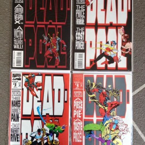 Deadpool: The Circle Chase (complete set of 4)