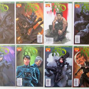 Kato Bundle (16 books) Complete 2012 series + Origins #1 + Annual