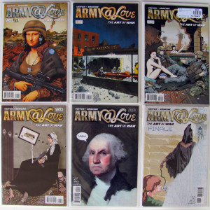 Army @ Love Bundle (18 books) Complete 1st and 2nd Series